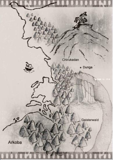 Landkarte von Arkoba
