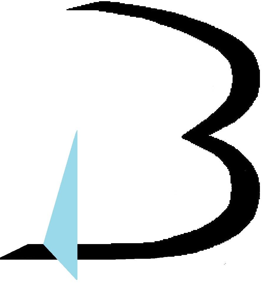 farbiges B aus dem Logo BAMA-Verlag